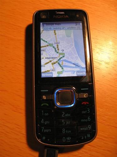 Nokia 6220 gMaps