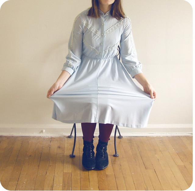 Tasha Mack's Little Blue Dress | Ericka Dukes