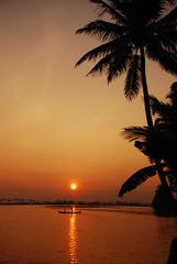 Fishing at Sunrise photo by Aditi Patnaik