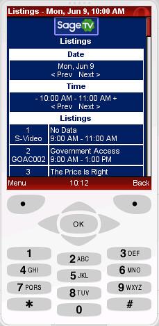 SageTV Mobile2