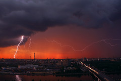 Evening lightning photo by ˙Cаvin 〄