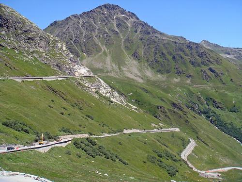 Col du Saint Bernard - Italian Side