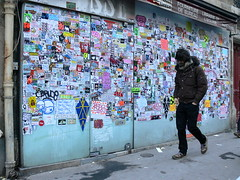 big sticker combo in Paris photo by vitostreet