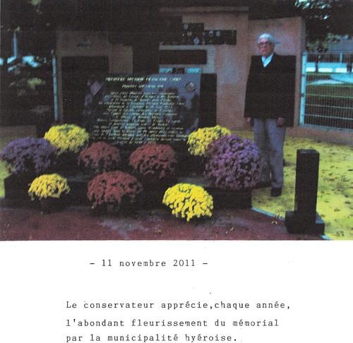 Monsieur Tropet conservateur du Memorial - La 1ère DFL dans le Var août 1944- Pierre Tropet conservateur du Memorial de Hyères