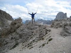Antermoia - Pass 2740m