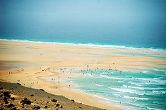 Playa de Sotavento. Fuerteventura. photo by Jesús Garrido