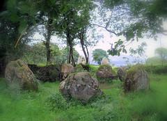 Lissivigeen Stone Circle photo by Tony Mulraney