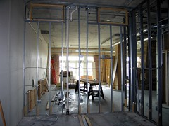 How to build a loft : plumbing, electrical and framing photo by brent flanders