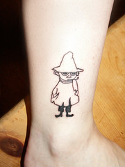 New Snufkin tattoo!! photo by Shapeshifter Photography