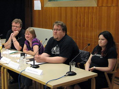 Tommy, Ylva, Jukka, and Marianna discuss evil in fantasy