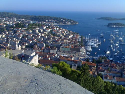 Harbor of Hvar - Croatia