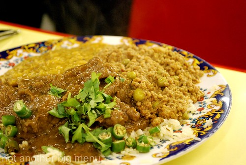 This'n'That, Manchester - Keema curry and rice