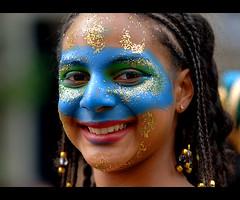 Notting Hill Carnival face photo by abudoma