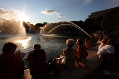 Fountains on! photo by soleil1016