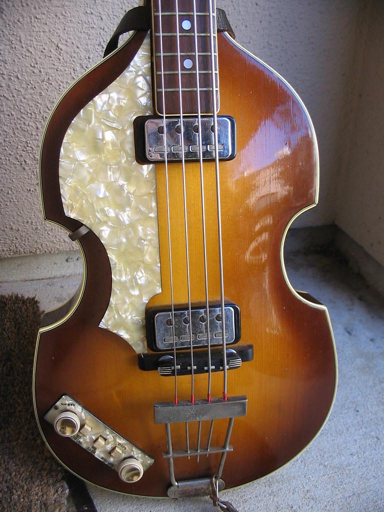 1963 Hofner Lefty 500/1 Bass photo by JoeyB1964