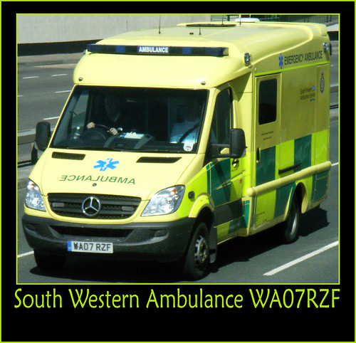 South Western Ambulance WA07RZF