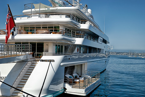 Another Photo of Luxury Yacht Princess Mariana. Amazing luxury!