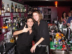 Our awesome bartenders in kilts!