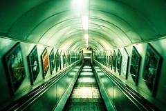 elevator ads photo by MrLomo