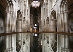 Ely Cathedral - Mirror image photo by Heaven`s Gate (John)