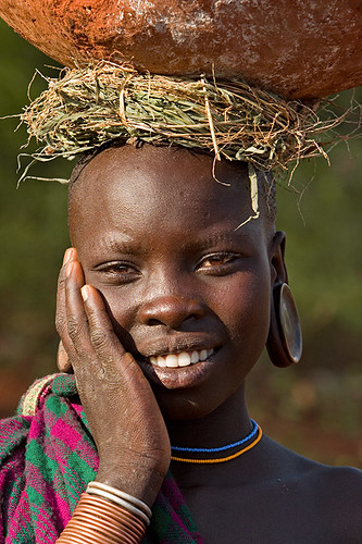 Girls From African Tribes