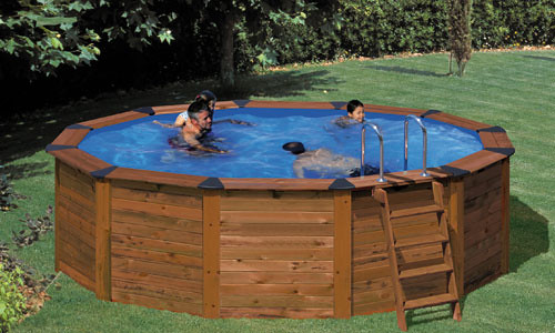 Removable above ground pool economical solution for - Como construir una piscina ...