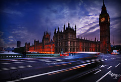 London in Motion photo by althani_1986