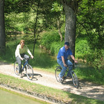 Bicycling in Burgundy