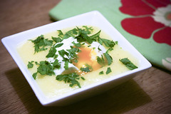 Poached Egg with Polenta