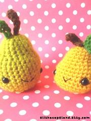 Amigurumi Pears 1 photo by xelishacopeland