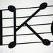 K - Musical note konditori