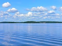 Landscape - Lake of Mälaren near Stockholm photo by Olof S