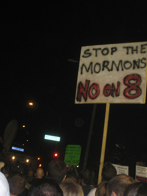 Stop the Mormons, No on 8 | Flickr - Photo Sharing!