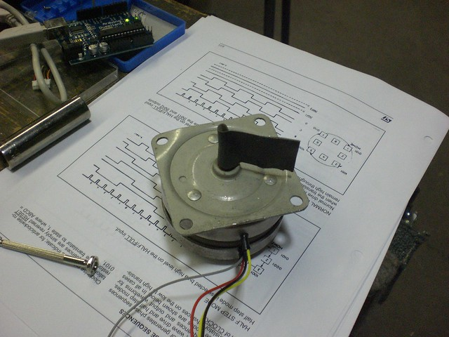 Stepper Motor | Flickr - Photo Sharing!