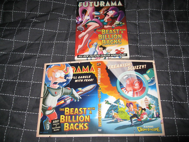 Futurama: The Beast with a Billion Backs movies in Italy