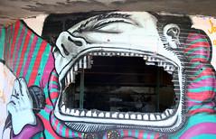 Graffiti in abandoned hotel, Monte Estoril, Portugal photo by Graffiti Land