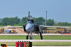 Fighter Jet - Downtown Kansas City Airport