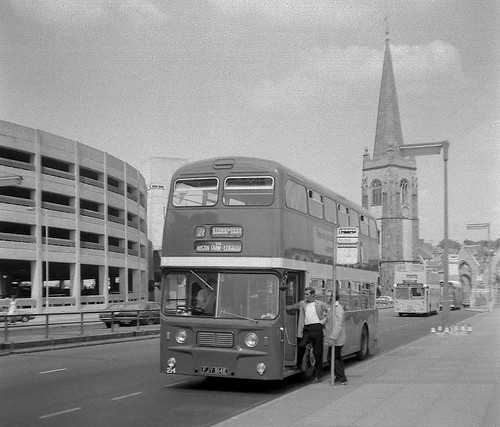 Plymouth City Transport, Leyland Atlantean, MCW, FJY 914E.
