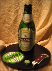 heineken bottle cake photo by debbiedoescakes