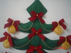 Árvore de Natal - Feltro - photo by Arte Arteira - Feltro
