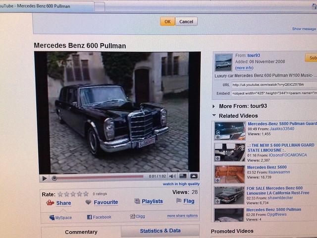 1964 mercedes benz 600 pullman. mercedes benz 600 pullman