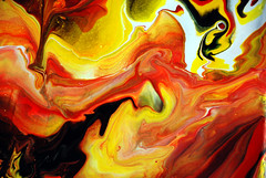 Abstract painting photo by markchadwickart