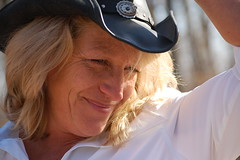 Fun With A Cowboy Hat photo by Sue Sweet