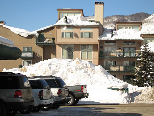 Vail Snow Removal 0416