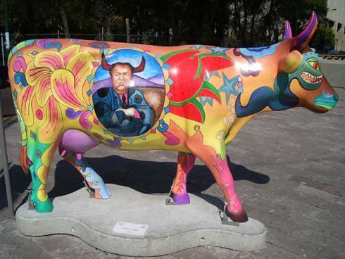 Cowparade Frida&Diego
