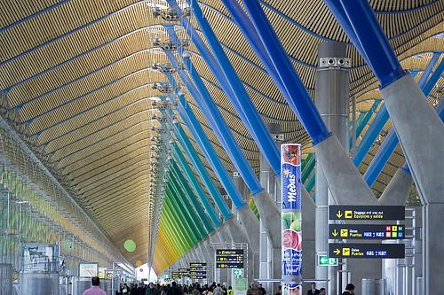 Aeropuerto Barajas T4 Madrid
