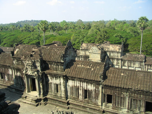 On top of Angkor Wat