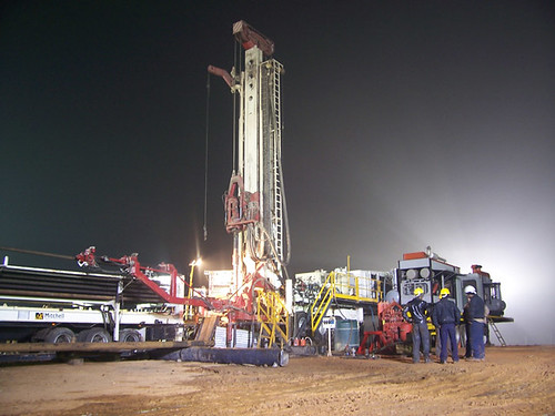 Rig at Night