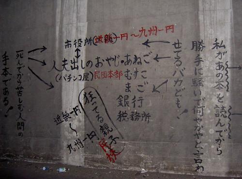 この壁はメディアだ、そしてメディア=メッセージだ.