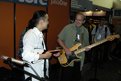 Hideya and Hans, JavaOne 2006